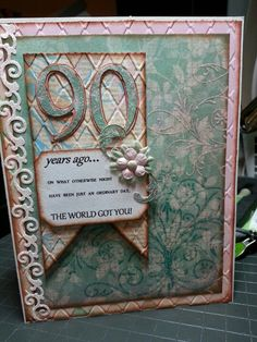 90th birthday card 12-26-12