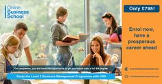 Know Key Elements of Business with OBS Level 3 Business Management Programme