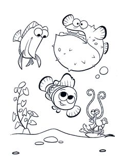 Finding Nemo Printable Coloring Pages from Printable Finding Nemo Coloring Pages. Here, you can find Finding Nemo coloring pictures for children, young people, and adults. Finding Nemo is an animated film from Pixar Animation Studio. Princess Coloring Pages, Bible Coloring Pages, Disney Coloring Pages, Animal Coloring Pages, Printable Coloring Pages, Adult Coloring Pages, Coloring Books, Finding Nemo Coloring Pages, Fish Coloring Page