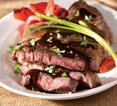 Pan-Seared Szechuan Beef with Hoisin Glaze