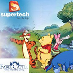 Supertech Fable Castle first of its kind project in North India by Supertech Limited. Supertech Fable Castle located at Yamuna Expressway Noida based on Disney Theme