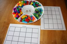 Counting and Colors Grid Game