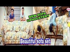 new sofa design upholstery by zafar khan & team - YouTube