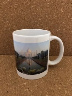 Taj Mahal Ceramic Handmade Mug by NGBCraftsandSupplies on Etsy
