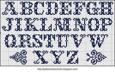I want to thank Valérie bleudecroix for providing the Easy Cross files = + + + + + Cross Stitch Letter Patterns, Cross Stitch Letters, Cross Stitch Heart, Cross Stitch Samplers, Cross Stitch Flowers, Cross Stitch Designs, Cross Stitching, Cross Stitch Embroidery, Crochet Alphabet