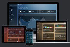 Lumino Pro: Bootstrap Admin Template by Medialoot on @creativemarket