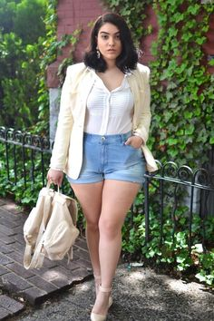 Image result for tshirt outfit curvy women