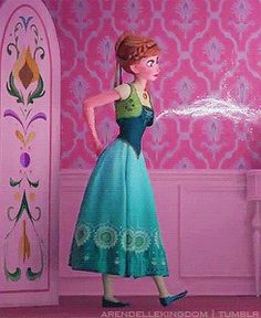 """What the fuck is this? Elsa can just change the color of clothes now? What, did she use ice to make the flowers and stuff bright and colorful? This is bullshit. Fuck Elsa's """"lol so random"""" powers, and fuck Frozen Fever."""