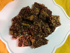 Chocolate Peanut Butter Rice Crisp Treats | Meatless in a McWorld