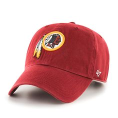 8a30bb2ac Washington Redskins Clean Up Razor Red 47 Brand Adjustable Hat