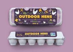 John Family Egg Carton — The Dieline - Branding & Packaging Design Egg Packaging, Beverage Packaging, Brand Packaging, Label Design, Branding Design, Graphic Design, Package Design, Roasting Company, Creativity And Innovation