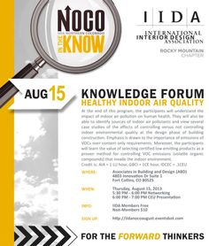 NOCO in the Know « IIDA Rocky Mountain Chapter IIDA Rocky Mountain Chapter