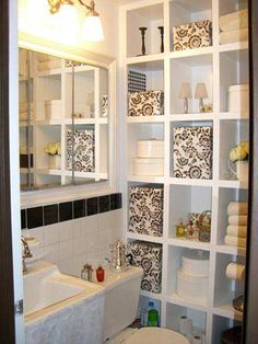 Image On How to Get Organized Small Bathroom StorageBathroom