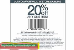 Ulta Coupons Ends of Coupon Promo Codes MAY 2020 !, store region in United Ulta as & in known a the it Salon, place this headqua. Printable Coupons, Free Printables, Ulta Coupon, Discount Coupons, Coupon Codes, Pizza, Coding, How To Get, Messages