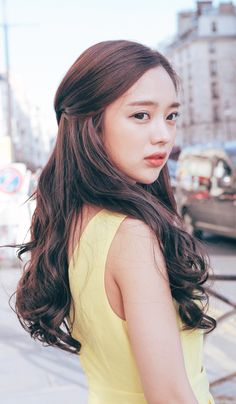 Ulzzang - Fashion - Beauty - Kpop I do NOT post pictures of myself! The girls' names are always in the tags! Bora Lim, Ulzzang, Hair Color Asian, Braut Make-up, Pinterest Hair, Bridal Hair And Makeup, About Hair, Hair Day, Girl Hairstyles