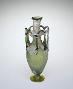 Flask, Roman, 400-599 | Corning Museum of Glass