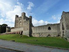 . Castillo de Rochester (Inglaterra, Reino Unido)