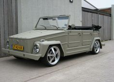 VW Thing Volkswagen Kubelwagen (VW Thing) Low Rider