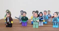 Custom Made 3D Print of Your OWN Head for Lego Minifigures These make fantastic family gifts and great stocking fillers.  Every child loves Lego -