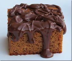 Grain Free Pumpkin Gingerbread Cake #recipe