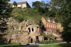 The Nottingham Caves.