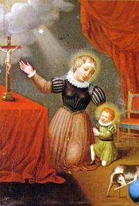 Juana de Aza(1135-1205): nació en el seno de una familia noble. Subió a los altares de la iglesia católica principalmente por haber sido madre de otro santo, Santo Domingo de Guzmán, fundador de la orden de los dominicos. Al margen de los milagros que se le reconocieron, su fue una vida de piedad, recogimiento y, sobre todo, entrega a los demás. Dispuesta siempre a ayudar a los más necesitados, su nombre fue recordado como el de una mujer buena y solidaria muchos tiempo después de su muerte.