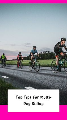 Blog post to break down the elements that i find help when it comes to multi day cycling. Cycling Events, Muscular Endurance, Cycling Holiday, Specific Goals, Aerobics Workout, Do What Is Right, Training Plan, My Ride, Survival