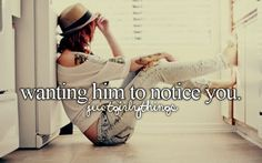 And when he does, even if is a simple hi, it's the best feeling in the world