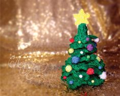 Christmas Tree Crochet Green Christmas Tree by All4partytime