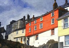 A selection of my own art - I hope you enjoy! This is a  picture of Mevagissey in Cornwall, England.  To see my full range of pictures please visit my website at http://images21.webs.com
