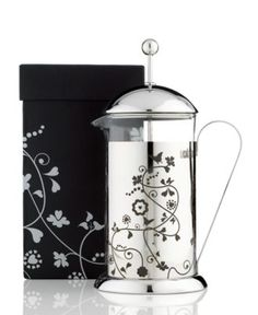 Love my La Cafetiere French Press. I would never trade it in for a coffee maker. Delicious coffee quick and easy to clean!