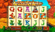 Armadillo Artoe Amaya Spielautomat - hast du schon gespielt? Super spannend und attraktiv führt das Spiel dich in die Wilde Westen die Gewinne zu sammeln! Viel Erfolg dabei!
