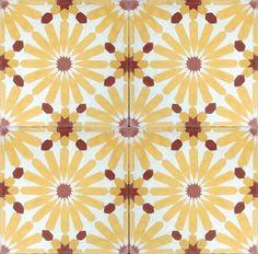 Daisy Cement Tile