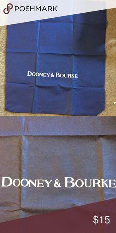 """Dooney & Bourke XLarge Dust Cover Dooney & Bourke XLarge Dust Cover, 24.5"""" by 30"""", dark blue Dooney & Bourke Bags"""