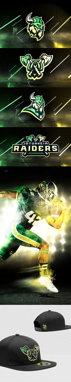 Raiders - Sports Identity by Jeremy Nelson