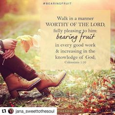 My prayer today!  May I walk worthy of the price paid for my life!  #Repost @jana_sweettothesoul with @repostapp  Walk in a manner worthy of the Lord fully pleasing to him: bearing fruit in every good work and increasing in the knowledge of God; Colossians 1:10  This scripture was one I mostly read over until one day I heard a powerful sermon which convicted me to ask is the life I am living worthy of the price paid for it?  Christ paid a great price - the greatest price - for the redemption…