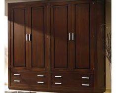 Resultado de imagen de closets en madera