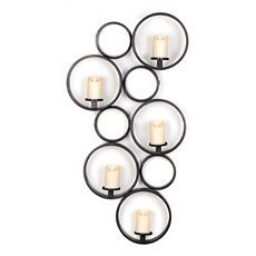 Circle Pattern 5-Candle Sconce at Kirkland's