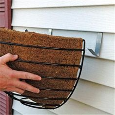 Avoid drilling holes in your siding by using siding hooks  #Siding