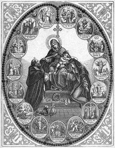 Thesaurus Precum: Meditações para o Rosário Catholic Missal, Catholic Art, Catholic Saints, Religious Art, Vintage Holy Cards, Images Of Mary, Heart Illustration, Art Themes, Sacred Art