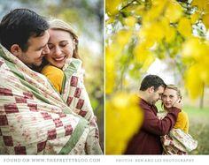 Yellow autumn couple shoot | Photos: Ben & Les photography