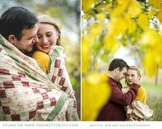 Yellow autumn couple shoot | Photos: Ben & Les photography