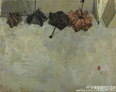 Singing In The Rain, Heavens, Umbrellas, Still Life, Art Dolls, Scene, Interiors, Gallery, Painting