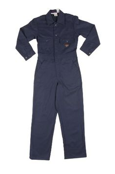 0da8d7001918 Find the best prices on Rasco Flame Resistant Coveralls 10 oz Cotton NAVY  and save money. Safety ClothingInsulated ...