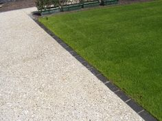 exposed aggregate concrete, contrast brick edging (with shell nz - stephensons)