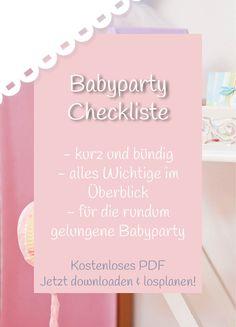 Babyparty Deko, Spiele und Geschenke | Baby Belly Party