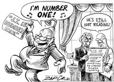 JZ : I am Number One...in illiteracy...