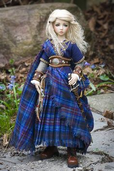 Celtic Doll....wow...from Antique Lilac