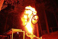 Fire-Breathing BMX