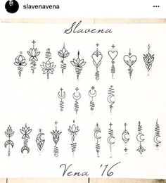 Unalome pieces from - - Flower Tattoo Designs - Minimalist Tattoo Unalome Tattoo, Unalome Symbol, Kritzelei Tattoo, Poke Tattoo, Tattoo Blog, Tattoo Drawings, Mini Tattoos, Cute Tattoos, Body Art Tattoos